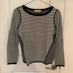 Tory Burch nautical stripe sweater